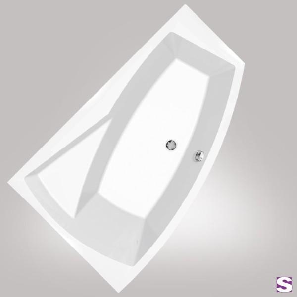 Raumspar-Badewanne Rio