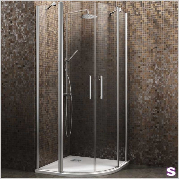 Viertelkreis-Duschkabine Parsa2