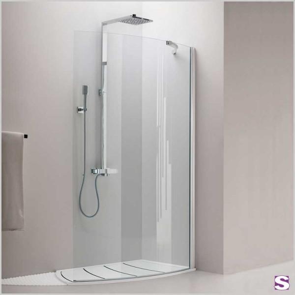 Eck-Duschkabine Cido mit seitlicher Öffnung