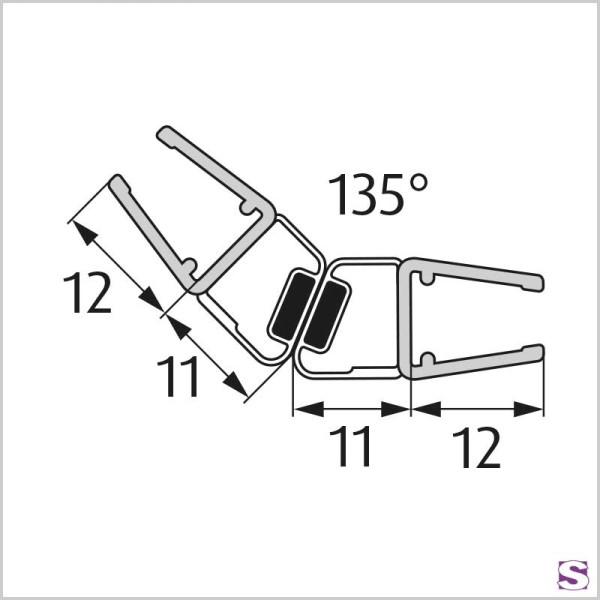 Magnetisches Türdichtprofil DL-26-27