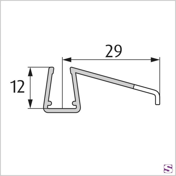 Schiebetürprofil DL-20