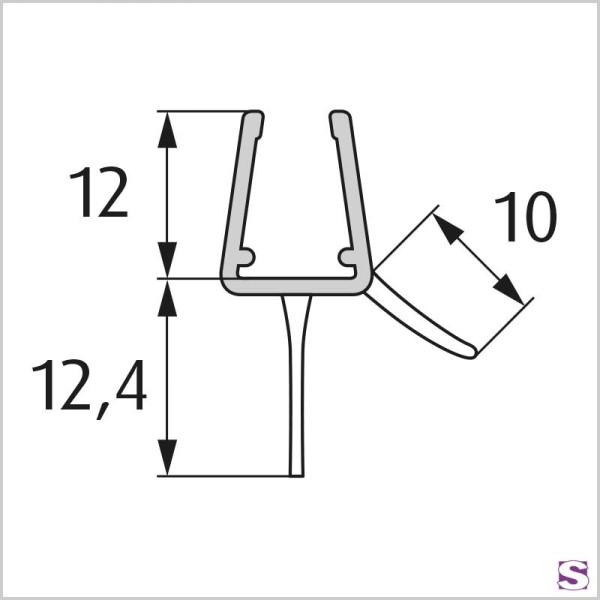 Wasserabweisprofil DL-14